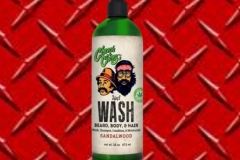 Cheech and Chong's Wash is a 3-in-1 Body Wash, Shampoo & Conditioner for beards, body and hair. It is an all around perfect cleansing product. Made with 100% pure and natural ingredients including Hemp Seed Oil, Jojoba Oil, Avocado Oil and Coconut Oil to bring the very best nature has to offer to your hair, facial hair and body. Wash is made for men but used by women as well. The light, refreshing and pleasant scent of organic Sandalwood works well on both men and women. This product offer a gentle cleansing solution that both cleans dirt and oil away from the body and hair easily without taking away natural nutrients. The formula replenishes and fortifies hair and balances your skin and hairs natural pH to ensure your best looks.